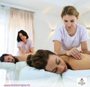 belle maison spa sedinta de masaj de relaxare in cuplu