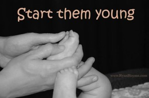 masaj pentru copii