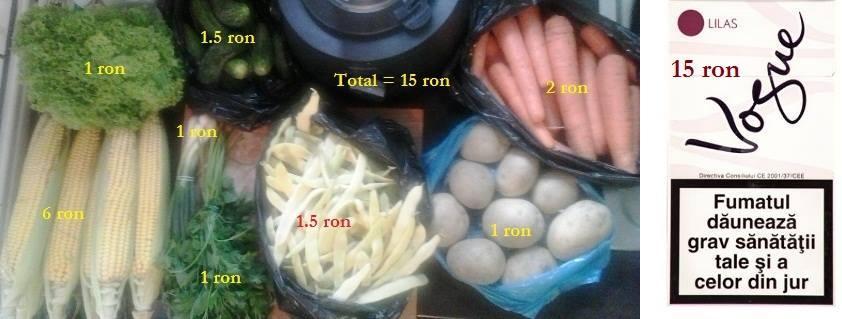 porumb morcovi fasole cartofi castraveti ceapa patrunjel